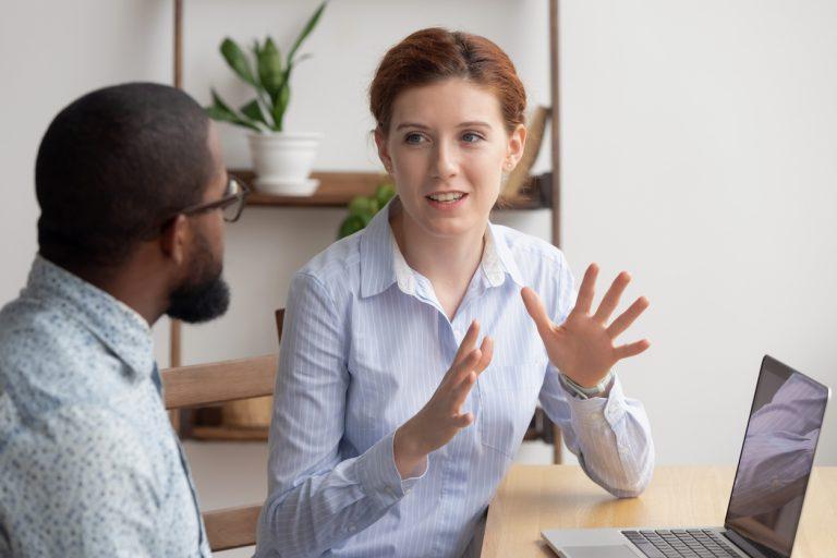 Verwalter zum Business Partner
